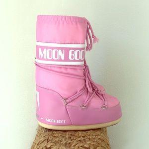 Moon Boot Pink US 5 Jr. 13
